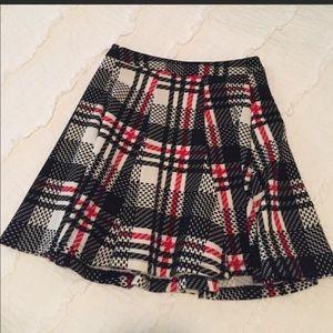 Lush Plaid Skirt Size XS